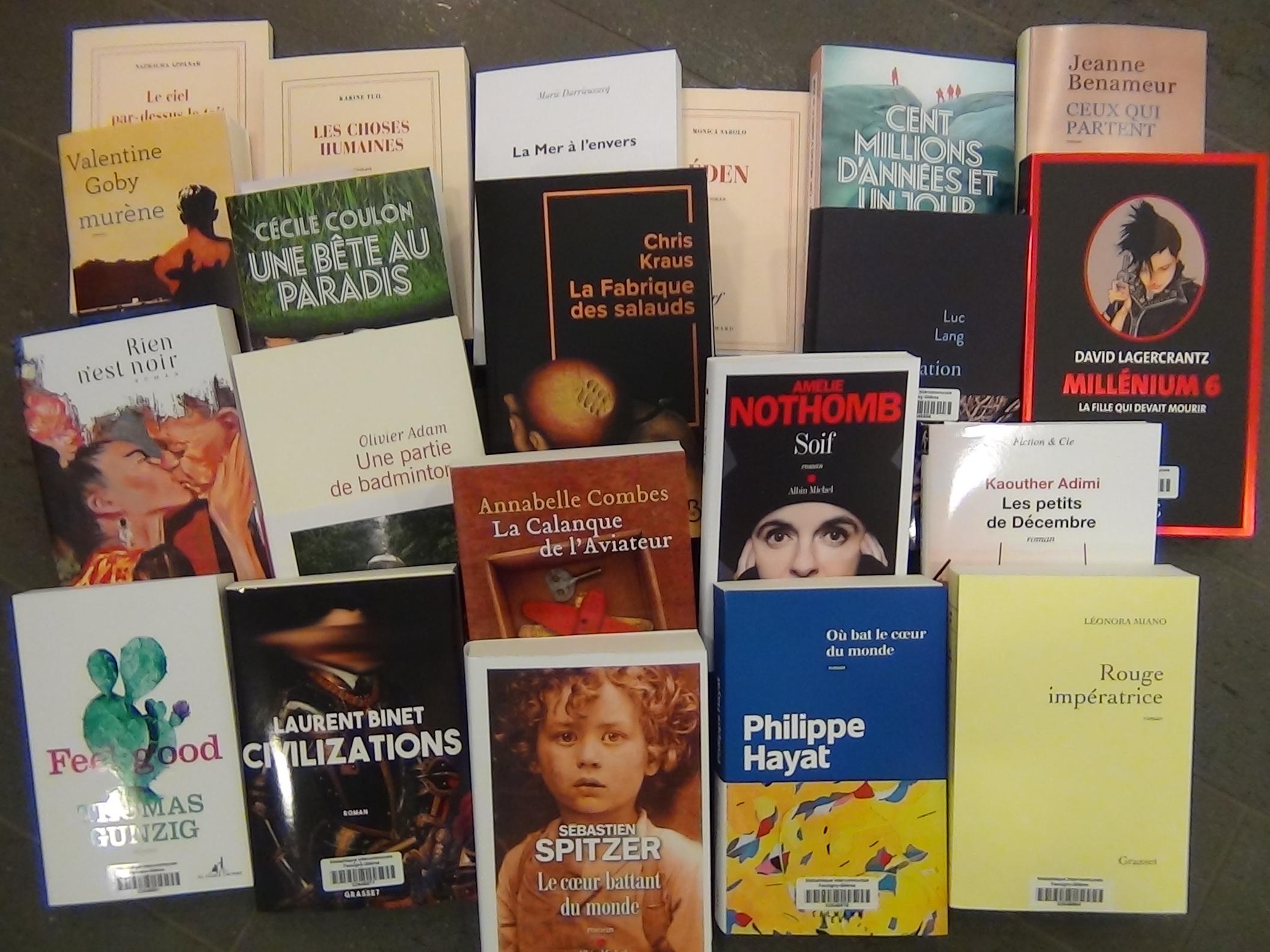 La Rentrée littéraire de l'Université Populaire de Bonneville |
